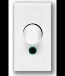 Variator cap scara 100-500w 1 mod alb Ave 45