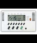 Cronotermostat zilnic/saptamanal 6-38 grade 3 mod Alb Ave 45