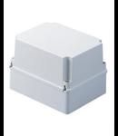 Doza aparenta ADANCA - IP56 - dimensiuni interioare 100X100X120 - SMOOTH WALLS - GREY RAL 7035