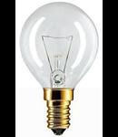 BEC INCANDESCENT - Standard 60W E14 P45 CL