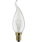 BEC INCANDESCENT - Deco 40W E14 BXS35 CL