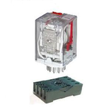 Releu industrial tip Ri13 3NO+3NC 24VDC ELM-55.02