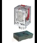 Releu industrial tip Ri13 4NO+4NC 24VDC ELM-55.04