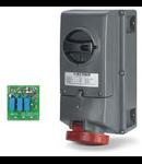 Priza Antiex 63A 2P+E 230V IP66 Scame