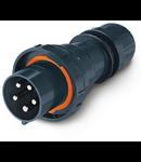 Stecher industrial Antiex 125A 3P+N+E 400V Scame