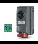 Priza Antiex 125A 3P+E 400V IP66  cu siguranta   Scame