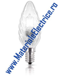 BEC - EcoClassic30 deco candle BW35 18W E14 230V ClaraA 1CT/15  Philips