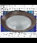 SPOT DOWNLIGHT GL201, max 2x26W, ALB, D-226, STELLAR