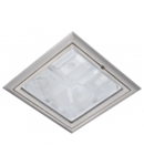 SPOT DOWNLIGHT GL204E, 2 X E27, 2 X MAX. 20W, SATIN NICHEL, D-230 MM, STELLAR