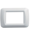 Placa ornament alb 2 module Gewiss System