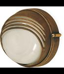 Aplica sau plafoniera exterior Parma bronz antic Klausen