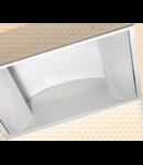 LAMPA ST GREY SIDE 2 X 36 W , SOCLU 2G11, IP20 - ALMA