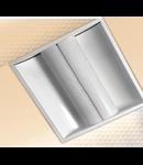 LAMPA ST GREY SIDE, 2 X 36 W, 2G11, KIT EMERGENTA  1 H, IP 20 - ALMA