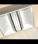 LAMPA ST GREY DARK 1 X 55 W, 2G11, KIT EMERGENTA 1 H, IP20 - ALMA