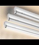 LAMPA ST YELLOW 2 X 36 W, G13, BALAST ELECTROMAGNETIC, IP 20 - ALMA