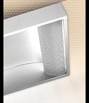 LAMPA ST COBALT SIDE 2 X 55 W, 2G11, BALAST ELECTRONIC, INVERTER CU AUTONOMIE 1 H, IP 20 - ALMA