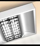 LAMPA ST COBALT DARK 2 X 54 W, G5, SISTEM OPTIC DKE, KIT EMERGENTA 1 H, IP 20 - ALMA