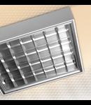 LAMPA ST AMARANTH 2 X 58 W, G13, SISTEM OPTIC LT6VTDK, BALAST DIMABIL, IP 65 - ALMA