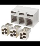 Set cleme tunel pentru MC4 cu 4P 4x50..240mm Schrack