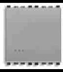 Intrerupator simplu 2 module Vimar (Eikon) gri
