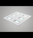 Lampa incastrata cu LEd Aries 6 module 60x60 30W