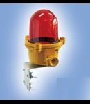 Lampa balizaj  LBFR 03  IP54, IK10 100W fixare cu flansa