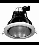 SPOT FLUORESCENT- INCANDESCENT CLASIC R-500NG,argintiu