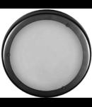 Plafoniera Plafon 25, crom satin/alb matt, 1x60W, E27