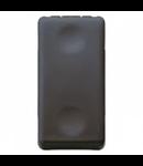 Intrerupator cap scara 1P 250V ac - 16AX - NEUTRAL - 1 MODULE - SYSTEM BLACK