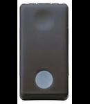 Intrerupator cap scara  cu led 16A negru Gewiss
