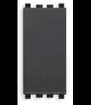Intrerupator simplu 1P 250V negru