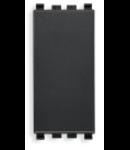 Intrerupator cap-scara 1P 250V 1modul negru