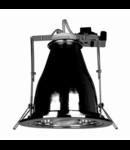 Spot downlight cu reflector R-4000, crom
