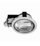 Spot downlight cu reflector H-7000, crom satin
