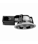 Spot downlight cu reflector, 2xPLC18W