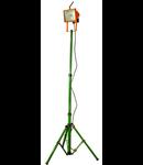 Proiector hal. portabil  B-7PJ, verde/portocaliu