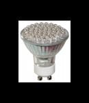 Bec 60 LED GU10 / 2.5W Rosu