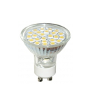 Bec Led MR16C GU10 18 LED Rosu