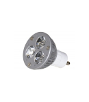 Bec LED MR16 cu lentila GU10 3LED*1W