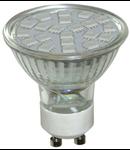 Bec 21 LED RGB 3W-GU10 21LED
