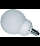 Bec sferic mat 15 LED E27 / 3W-3000K HEPOL (lumina calda)