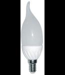 Bec lumanare fantezie E14 / 3W-6500 LOHUIS(lumina rece)