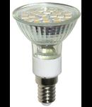 Bec R50 24 LED E14 / 3.5W-3000K HEPOL