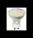 Bec 24 LED GU10 / 3W-3000K HEPOL