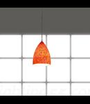 TONGA I lampa suspendata pentru EASYTEC II,rosu/oranj