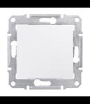 Intrerupator cruce 10 AX SEDNA SCHNEIDER aluminiu