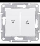 Intrerupator cu revenire cu interblocare mecanica 10 AX SEDNA SCHNEIDER aluminiu