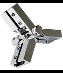 Accesoriu LINUX LIGHT cupla flexibilaY,crom