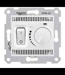 Termostat de camera SEDNA SCHNEIDER, aluminiu