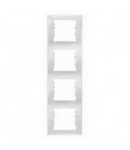 Rama verticala, 4 posturi SEDNA SCHNEIDER, titan